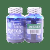 OF OMEGA 3 X 60 SOFTGELS AMARRE X 2