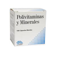 POLIVITAMINAS Y MINERALES CAJA X 100 CAPSULAS