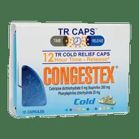 CONGESTEX CAJA X 10 CAPSULAS