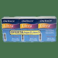 OFERTA TIRAS ONETOUCH ULTRA x 50 PAGUE 2 LLEVE 3