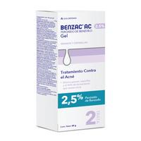 BENZAC AC GEL FACIAL ANTIACNE X 2.5% X 60GR
