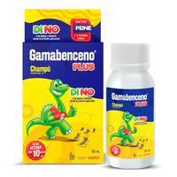 GAMABENCENO PLUS CHAMPU ANTIPIOJOS X 60ML
