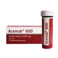 ACEMUK 600MG X 10 COMPRIMIDOS EFERVECENTES