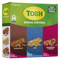 BARRA CEREAL TOSH SURTIDA X 6UND X 138G