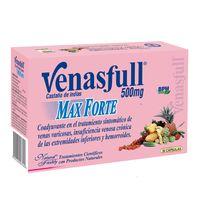 VENASFULL MAX FORTE 500MG CAJA X 30 CAPSULAS