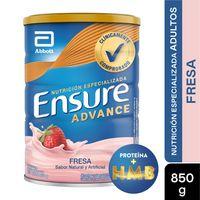 ENSURE ADVANCE FRESA X 850G