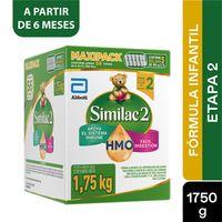 FORMULA INFANTIL SIMILAC PROSENSITIVE ETAPA 2 6-24M X 1750G