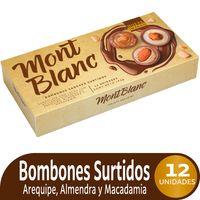 BOMBONES MONTBLANC SABORES SURTIDOS X 12 X 162G