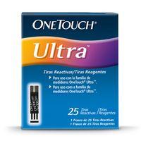 TIRAS REACTIVAS ONETOUCH ULTRA X 25UND