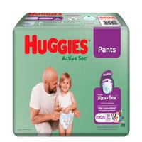 PANTS HUGGIES ACTIVE SEC ETAPA 5 XXG X 30UND