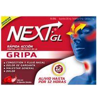 NEXT IBUPROFENO GRIPA 8 CAPSULAS