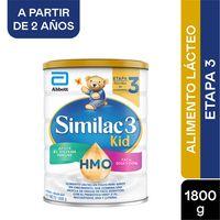 ALIMENTO LACTEO SIMILAC KID HMO ETAPA 3 X 1800G
